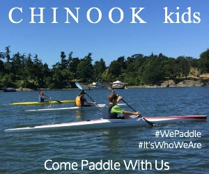 Chinook provides kids to the opportunity to learn the Olympic discipline of Sprint CanoeKayak.