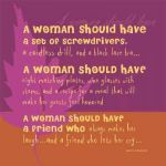 Every Woman Should ...